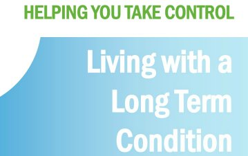 Living With a Long Term Condition Course - new dates for 2018/2019