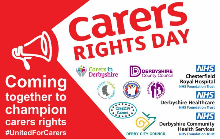 Carers Rights Day in Derbyshire…