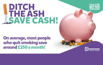 Ditch the Ash to Save Cash! Stub out and Save Campaign