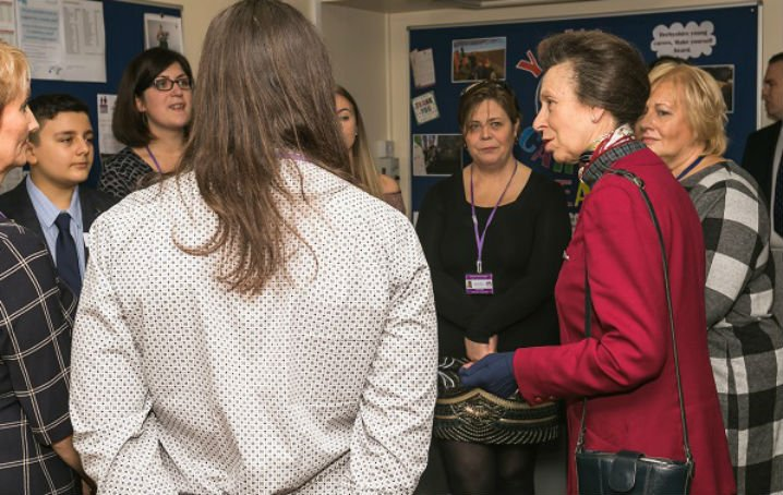 Princess Anne Visits Derbyshire…